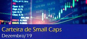 Carteira recomendada de Small Caps do BTG Pactual Digital para Dezembro de 2019