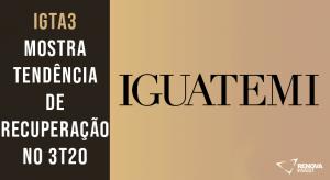 Resultado Iguatemi (IGTA3) para o 3T20