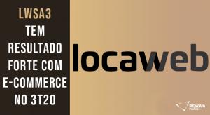 Resultado Locaweb (LWSA3) para o 3T20