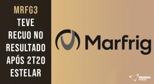Resultado Marfrig (MRFG3)