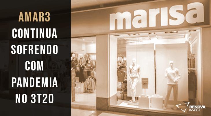 Resultado Marisa (AMAR3) para o 3T20