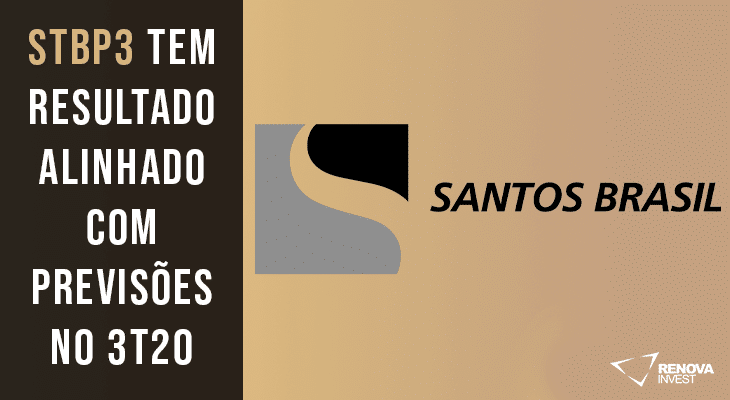 Resultado Santos Brasil (STBP3) para o 3T20