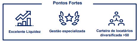 Kinea Renda Imobiliária FII (KNRI11) Pontos Fortes