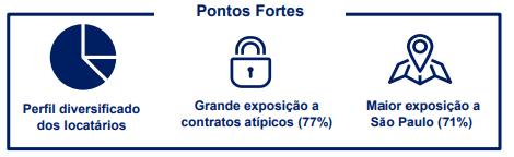 BTG Pactual Logística FII (BTLG11) Pontos Fortes