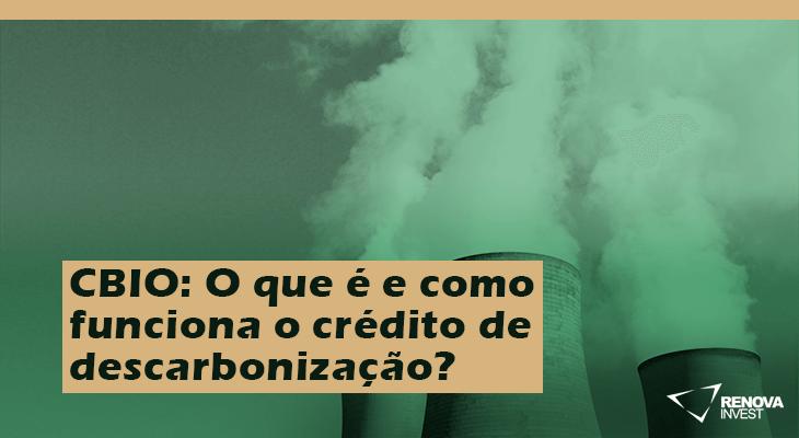 CBIO O que é e como funciona o crédito de carbono