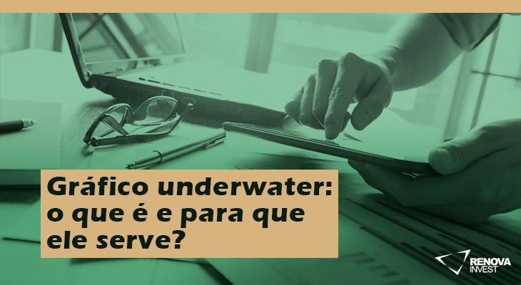 Gráfico underwater o que é e para que ele serve