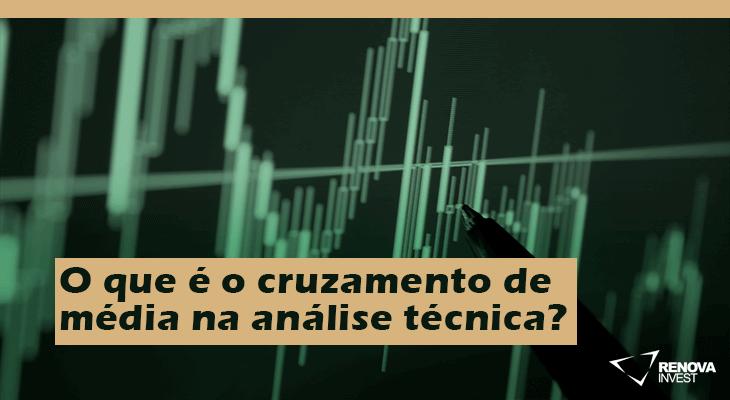O que é o cruzamento de média na análise técnica?