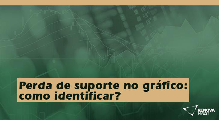 Perda de suporte no gráfico: como identificar?