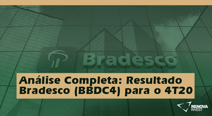 Análise Completa: Resultado Bradesco (BBDC4) para o 4T20