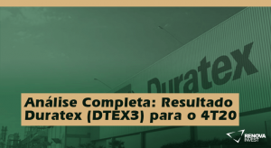 Análise Completa: Resultado Duratex (DTEX3) para o 4T20