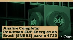 Análise Completa: Resultado EDP Energias do Brasil (ENBR3) para o 4T20