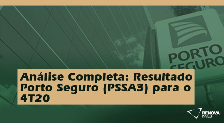 Análise Completa: Resultado Porto Seguro (PSSA3) para o 4T20