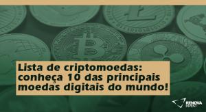 Lista de criptomoedas