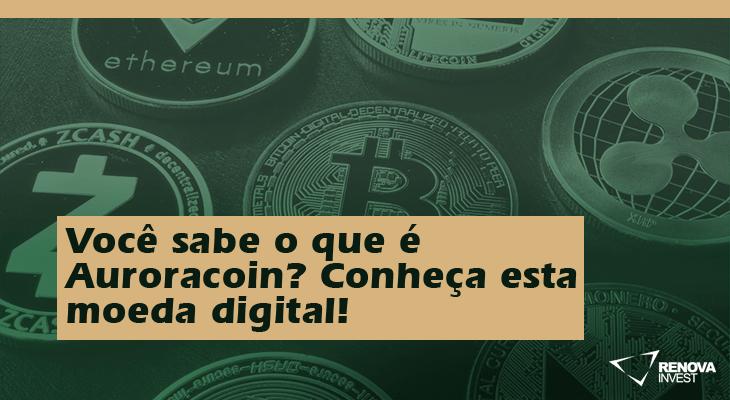 Você sabe o que é Auroracoin? Conheça esta moeda digital!