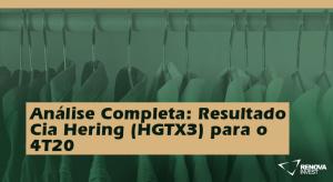 resultado Cia Hering (HGTX3) para o 4T20