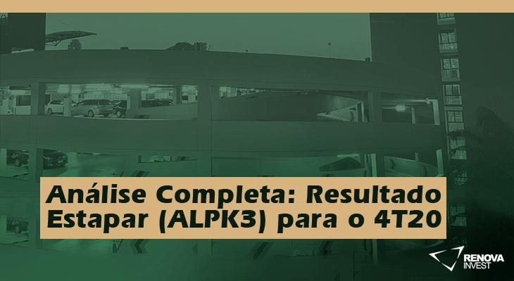 Análise Completa: Resultado Estapar (ALPK3) para o 4T20
