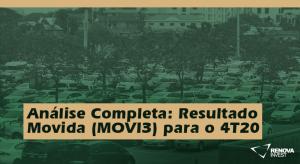 Análise Completa- Resultado Movida (MOVI3) para o 4T20