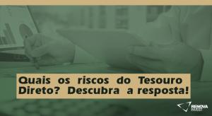 Riscos TesouroDireto