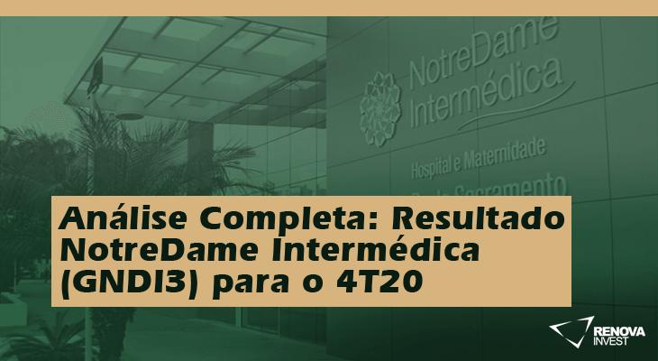 Análise Completa: Resultado NotreDame Intermédica (GNDI3) para o 4T20