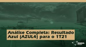 Azul (AZUL4) 1T21