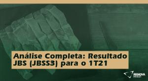 JBS (JBSS3) para o 1T21