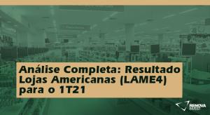 Lojas Americanas (LAME4) 1T21