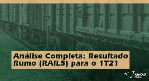 Rumo (RAIL3) 1T21