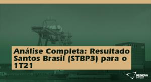 Santos Brasil (STBP3) 1T21