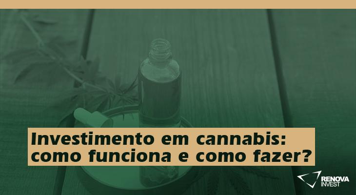Investimento em cannabis: como funciona e como fazer?