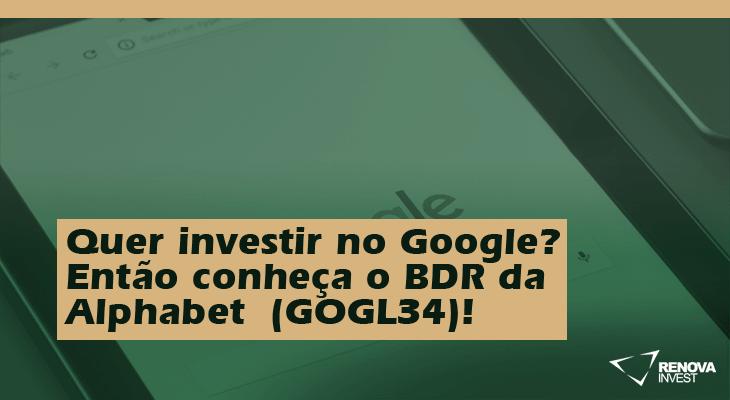 GOGL34 (Google) Alphabet