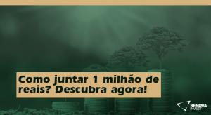 Como juntar 1 milhão de reais